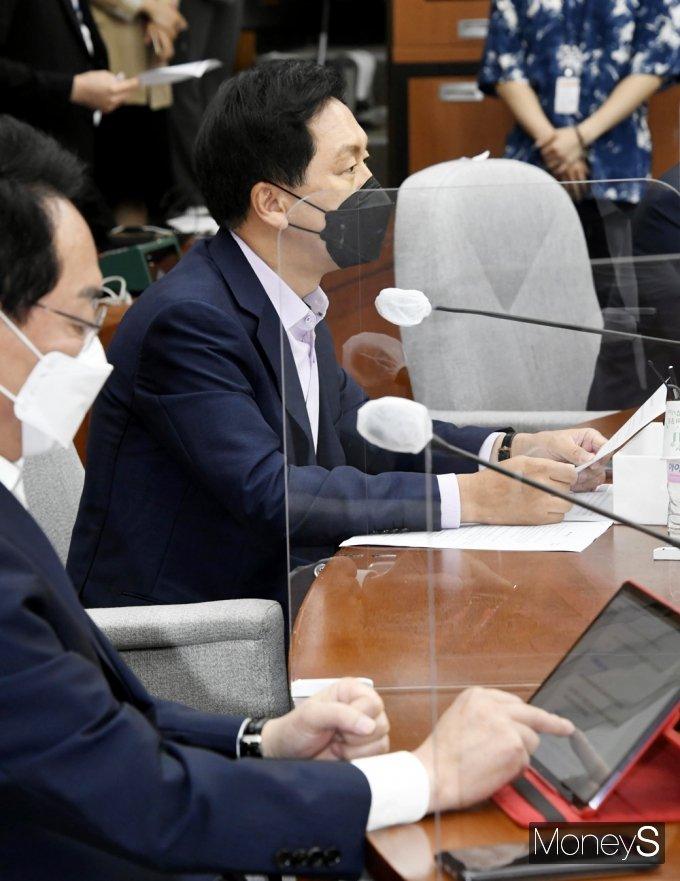 """[머니S포토] 김기현 """"대법원 김경수 실형 선고 2주 지났지만, 文 정부 침묵 이어가"""""""