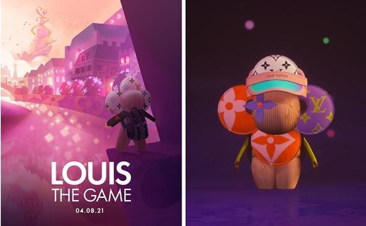 '루이: 더 게임' 포스터 및 게임 캐릭터로 변신한 비비엔/사진제공=루이 비통