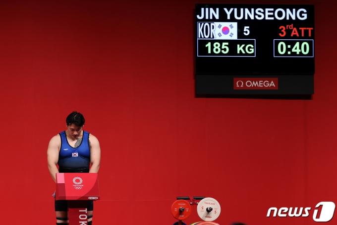 [사진] 진윤성 '포기는 없다'
