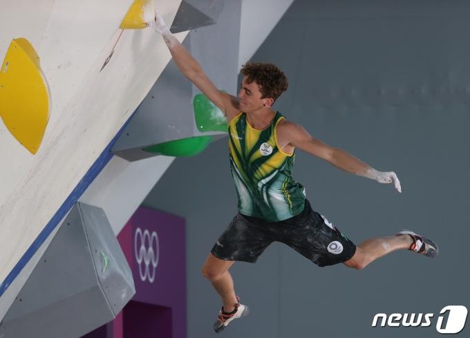 [사진] 올림픽에 첫 선 보인 스포츠 클라이밍