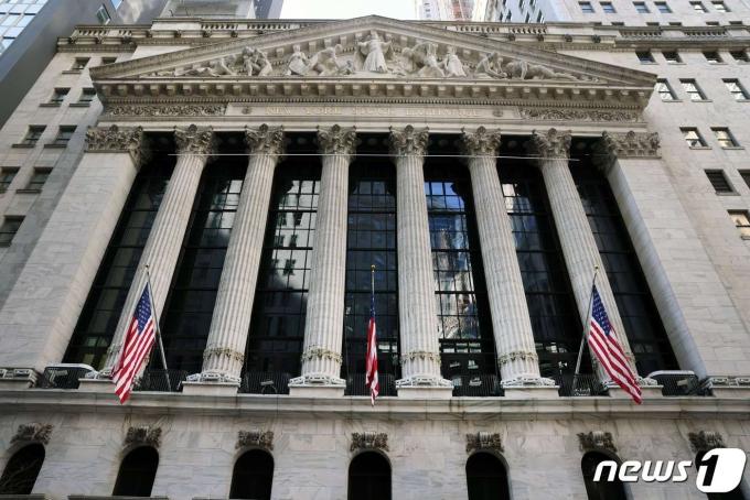 미국 뉴욕증권거래소 ©AFP=뉴스1