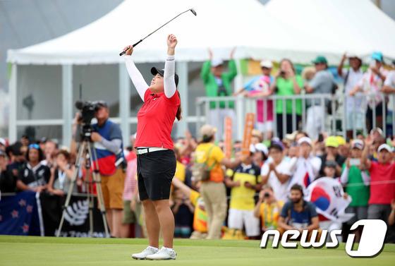 디펜딩 챔피언 박인비가 2대회 연속 금메달을 노리고 있다. (대한체육회 제공)2016.8.21/뉴스1