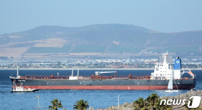 오만 해안에서 공격 받은 이스라엘 선박 머서 스트리트호. (사진은 기사 내용과 무관함) / 뉴스1 © News1© 로이터=뉴스1 © News1 이정후 기자