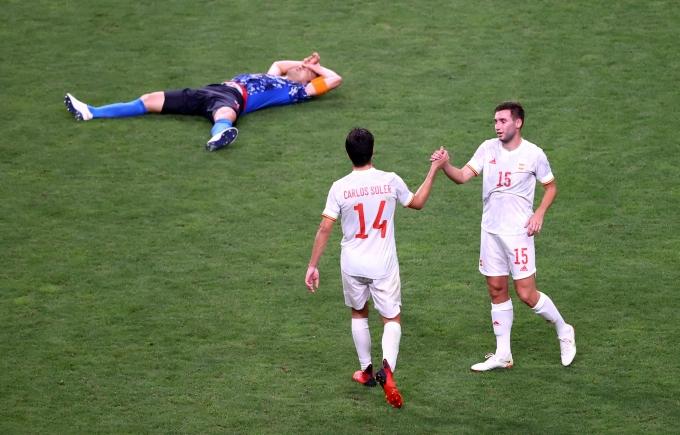 일본은 지난 3일 일본 요코하마 국립경기장에서 열린 2020도쿄올림픽 남자 축구 4강전에서 스페인에 0-1로 패했다. /사진=로이터