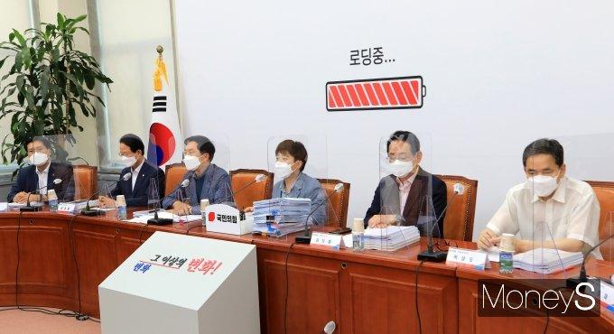 [머니S포토] '나는국대다 시즌2' 인사말하는 이준석 대표