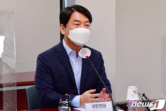 안철수 국민의당 대표/뉴스1 © News1 국회사진취재단
