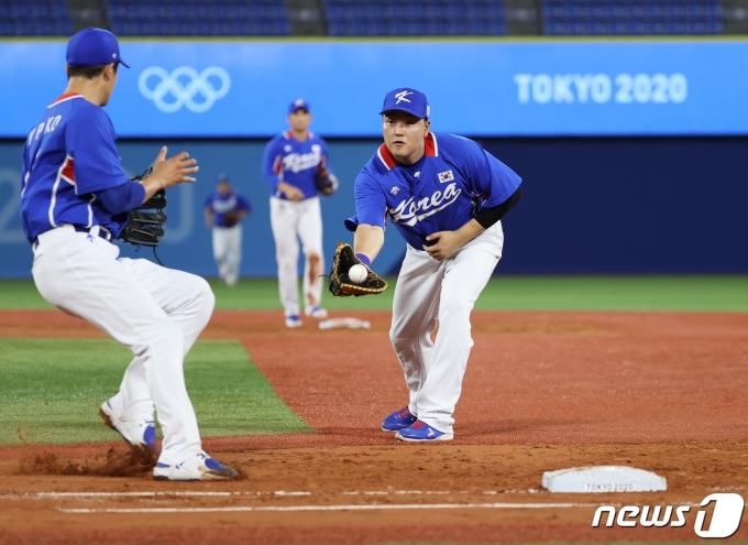 [사진] 대한민국 '실수는 없다'