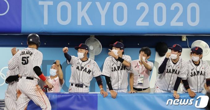 [사진] 앞서가는 일본 야구 대표팀