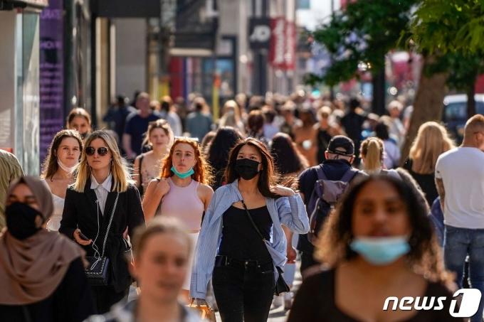 영국 런던의 거리. © AFP=뉴스1
