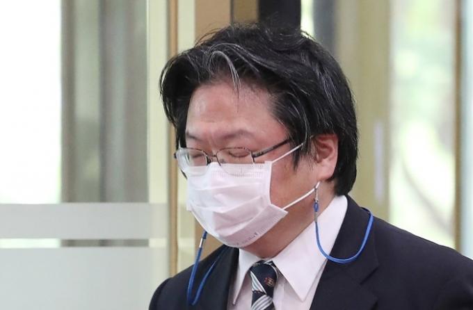 지난 4일 외교 소식통에 따르면 소마 히로히사 주한일본대사관 총괄공사 후임으로 구마가이 나오키 정무공사가 임명됐다. 사진은 소마 공사의 모습. /사진=뉴스1