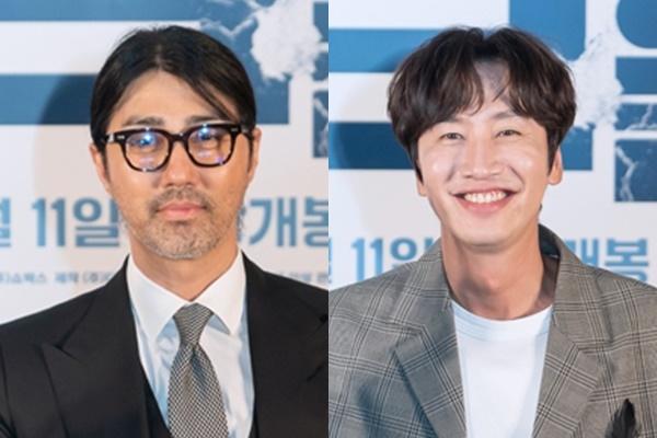배우 차승원(왼쪽)과 이광수가 '아침마당'에 출연한다. /사진='쇼박스' 제공