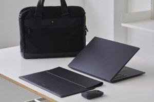 '한정판' LG그램 블랙라벨, 6일 예약판매 진행… 몽블랑 가방 기본 제공