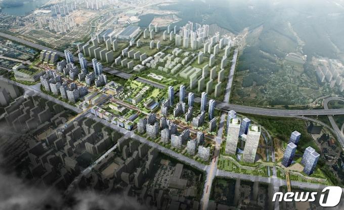 스마트시티 개발(사진은 기사 내용과 무관함) / 뉴스1 © News1