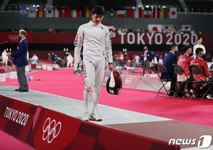 [사진] 전웅태 '쉽지 않은 도쿄올림픽'