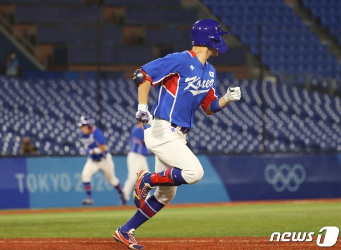 [사진] 1타점 안타 친 박해민