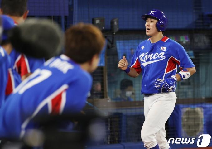 [사진] 1점 추격하는 대한민국