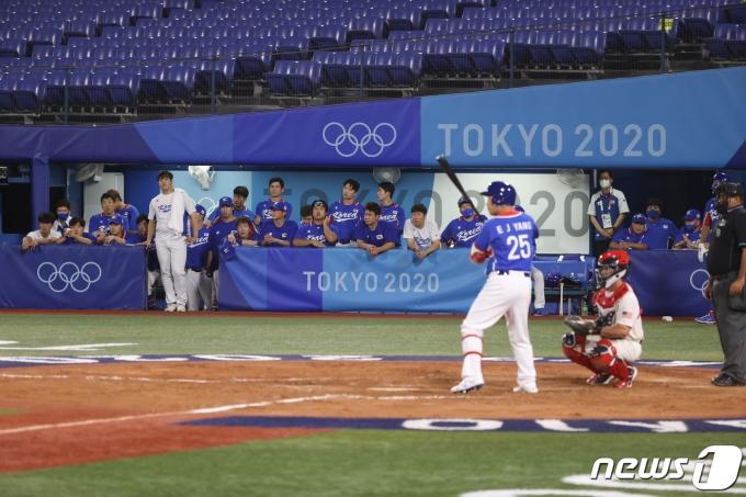 [사진] 야구, 멀어지는 결승