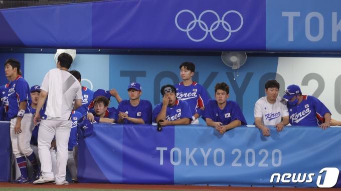 [사진] 대한민국 야구, 미국에 패