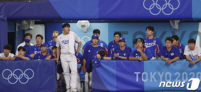 [사진] 한국 야구 '결승전 무산'