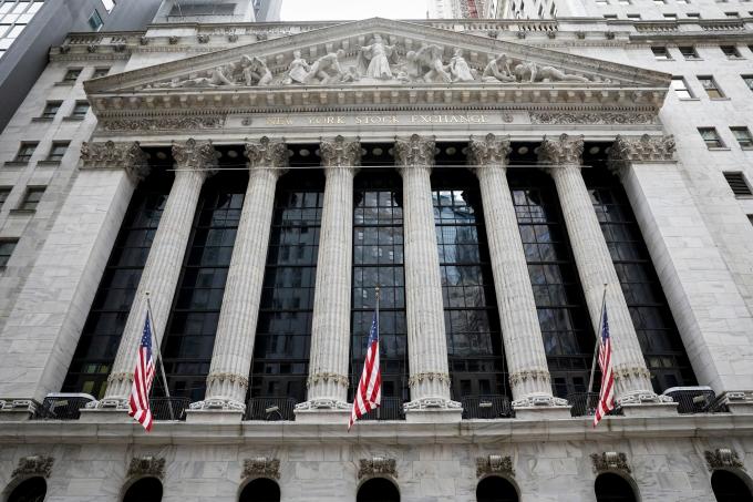 5일(현지시간) 뉴욕증시는 실업지표 개선에 기업들의 어닝 서프라이즈가 이어지면서 상승 마감했다. /사진=로이터