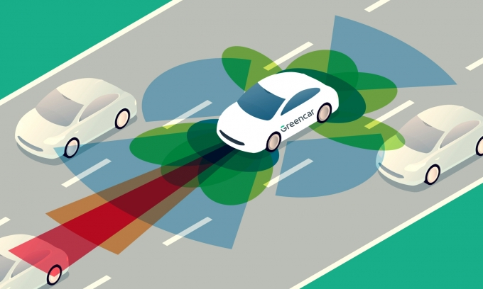 카셰어링 업체 그린카가 2022년까지 전 차량에 ADAS를 적용키로 했다. /사진=그린카