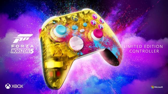 MS는 포르자 호라이즌 5 한정판 Xbox 무선 컨트롤러(Forza Horizon 5 Limited Edition Xbox Wireless Controller) 출시 소식도 알렸다. /사진제공=마이크로소프트