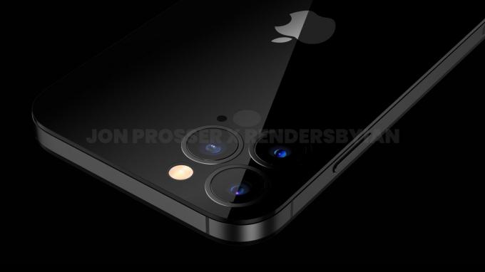 내년 하반기 출시가 예상되는 아이폰14 예상 렌더링 이미지. /사진=프론트페이지테크
