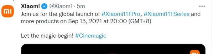 샤오미, 8분 만에 4000mAh '완충'… 애플과 같은날 신제품 발표