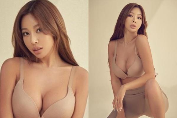 가수 제시가 글래머 몸매를 자랑했다. /사진=제시 인스타그램