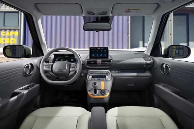 현대차가 '캐스퍼'의 온라인 얼리버드 예약에 들어갔다. 사진은 캐스퍼 내부. /사진=현대차
