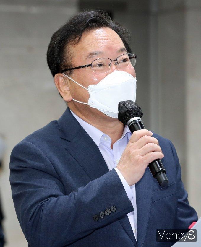 [머니S포토] 삼성 청년 소프트웨어 아카데미서 발언하는 김부겸 총리