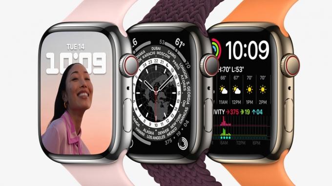 8분 충전하면 최대 8시간… 애플, 편의성 개선한 '애플워치7' 공개[영상]
