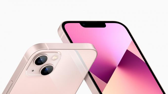 애플의 차세대 5G 스마트폰 아이폰13. /사진제공=애플