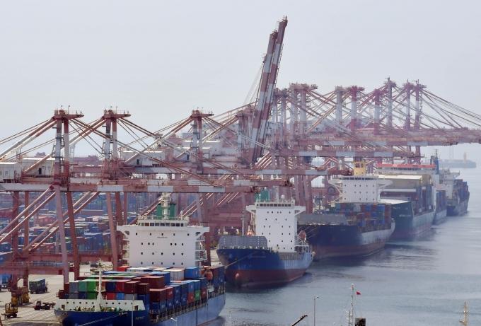 해운운임 급증 등으로 수출기업들의 물류비 부담이 커지고 있다. / 사진=뉴시스