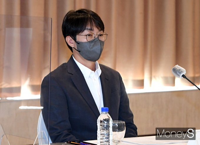 [머니S포토] 이정헌 넥슨코리아 대표, IT기업 CEO 회의 참석
