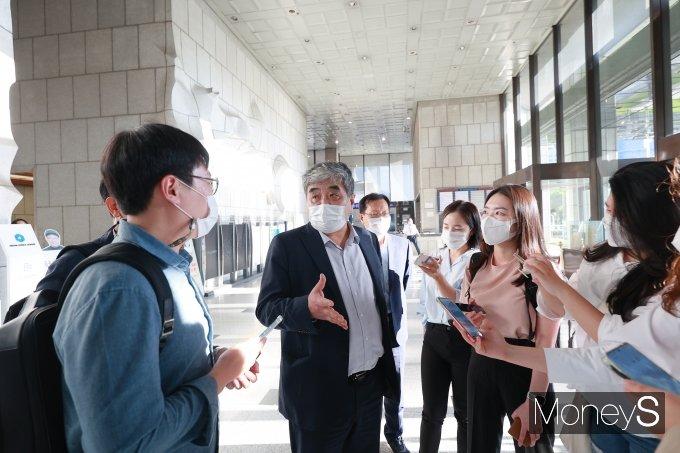 [머니S포토] 통신3사 대표 만난 한상혁 방통위원장