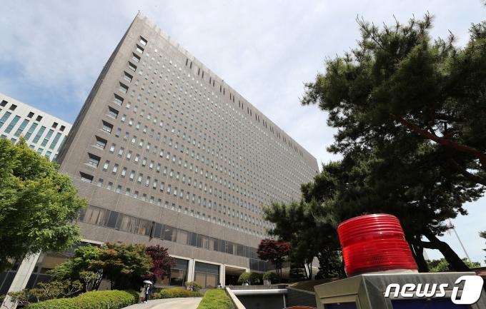 서울 서초구 서울중앙지검 전경. 2021.5.11/뉴스1 © News1 박세연 기자