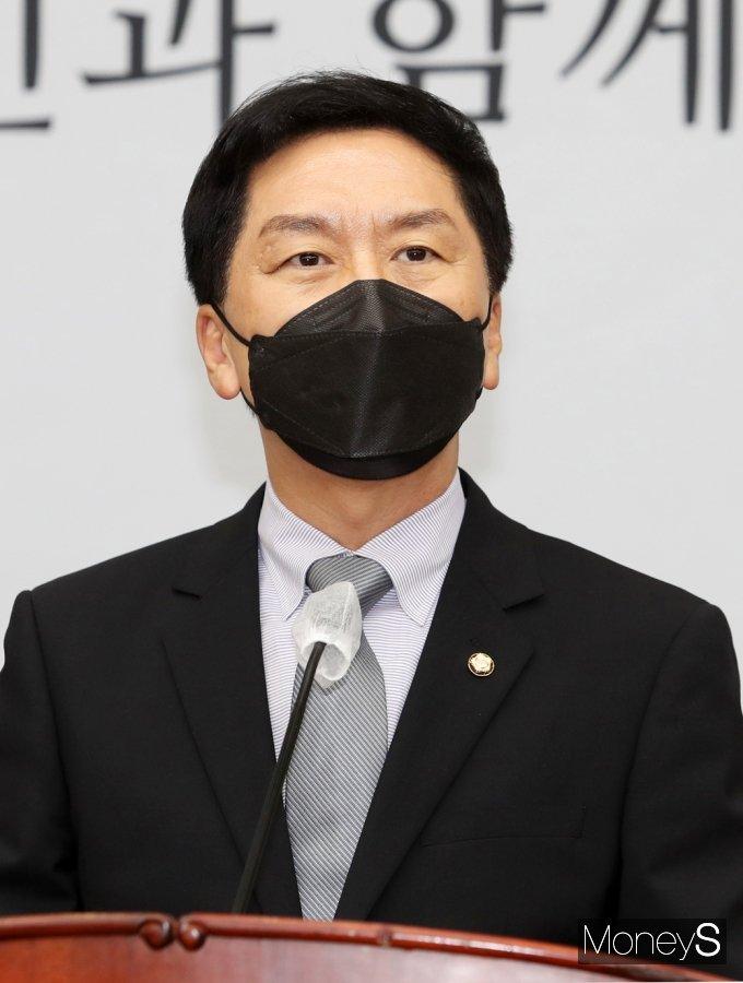[머니S포토] 발언하는 김기현 국민의힘 원내대표