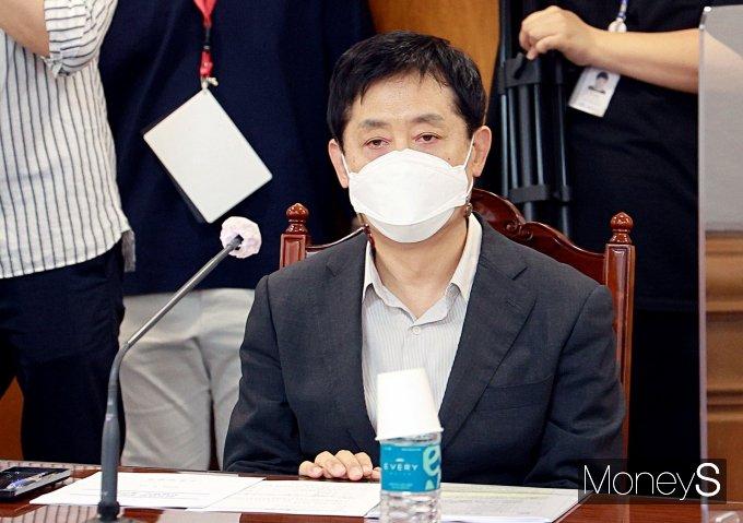 [머니S포토] 간담회 참석한 김주현 여신금융협회 회장