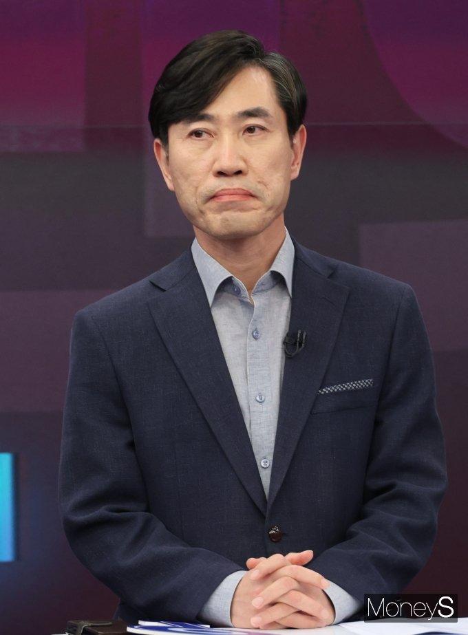 [머니S포토] 대선 경선 후보 토론 참석한 하태경 후보