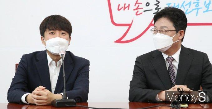 """[머니S포토] 이준석 """"유승민, 20년 정치 행보 엄중함 버리고, 스타일 변화"""""""