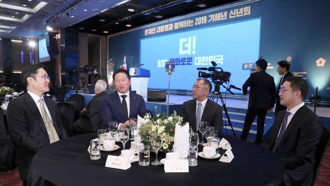 """""""성장 해법찾자""""… 4대그룹 총수, 추석에도 '경영구상' 삼매경"""