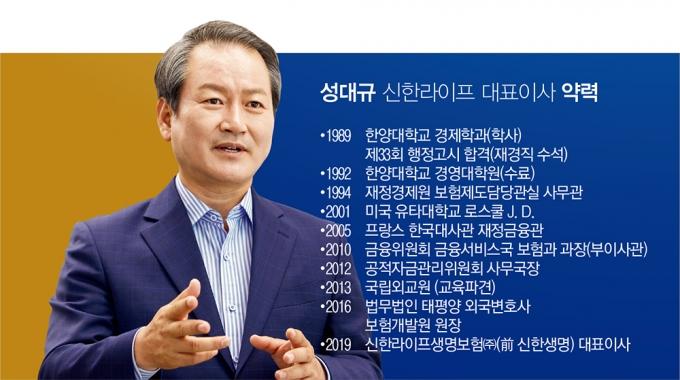 성대규 신한라이프 사장/사진=신한라이프