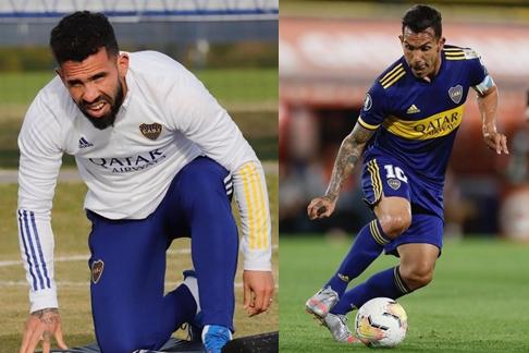 지난 16일(이하 현지시각) 아르헨티나 매체 442페르필은 테베즈가 이날 아르헨티나 동네 친구들과 축구하는 영상을 보도했다. 사진은 현역 시절 테베즈. /사진=테베스 인스타그램