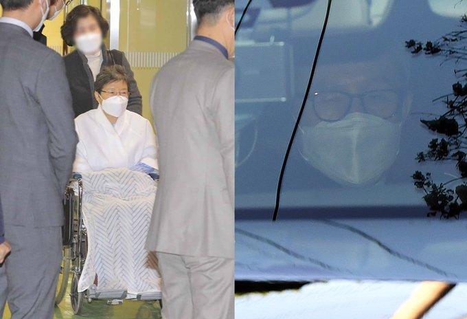 박근혜·이명박, 면회 없는 쓸쓸한 추석… 뭐하고 지내나