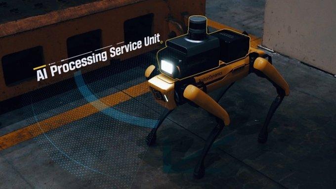"""""""공장 새벽 순찰은 로봇이 합니다"""" 시범 운영 시작한 현대차그룹"""