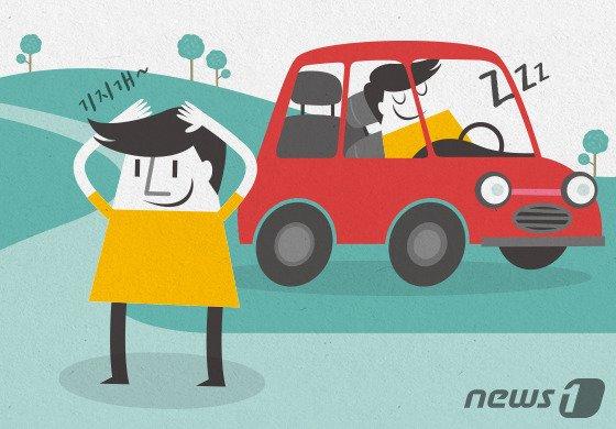고향길 꽉막힌 도로…최근 백신 접종자라면 장시간 운전 피해야