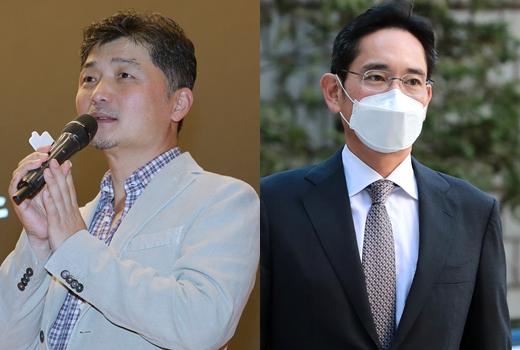 블룸버그가 집계하는 세계 500대 부자 순위(20일 기준)에 따르면 이재용 부회장(세계 212위·사진 오른쪽), 김범수 의장(세계 225위·사진 왼쪽) 등이 한국인으로서 순위에 이름을 올렸다. /사진=뉴스1