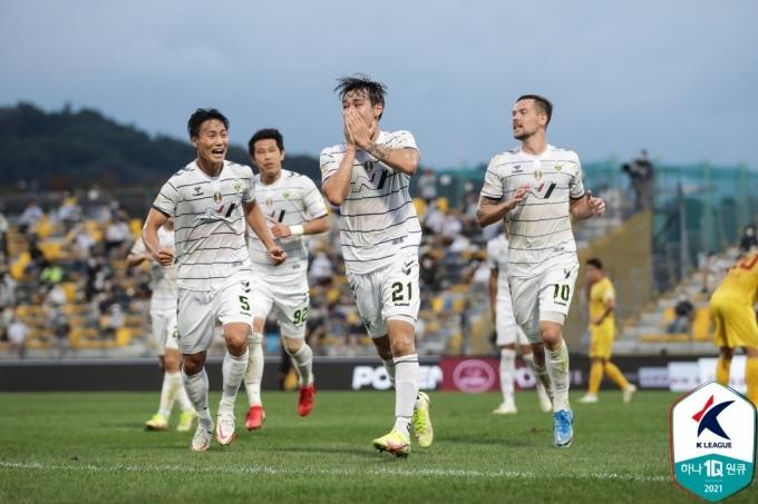 전북 현대 공격수 송민규. (한국프로축구연맹 제공) © 뉴스1