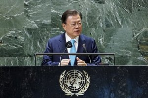 '임기 7개월 앞둔' 문재인 대통령, 유엔총회서 '종전선언' 또 꺼내
